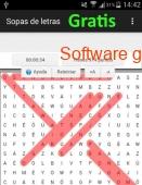 Juego Sopa de letras gratis 2016 captura de pantalla