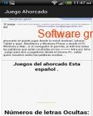 Juego del ahorcado gratis 2.0 Español captura de pantalla