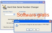 Hard Disk Serial Number Changer 1.0 captura de pantalla