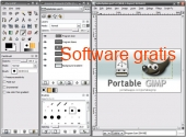 Gimp Editor portable gratis 2.8.18 captura de pantalla