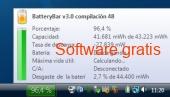 Batterybar free 3.6.6 captura de pantalla