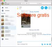 Skype Windows 2017 captura de pantalla