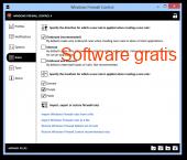 Windows Firewall Control 5.0.0.7 captura de pantalla