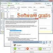 Windows Firewall Notifier portable 2.0 Español captura de pantalla