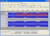 Audacity audio editor 2.3.3 captura de pantalla