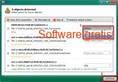 Kaspersky virus removal tool 15.0.19.0 captura de pantalla